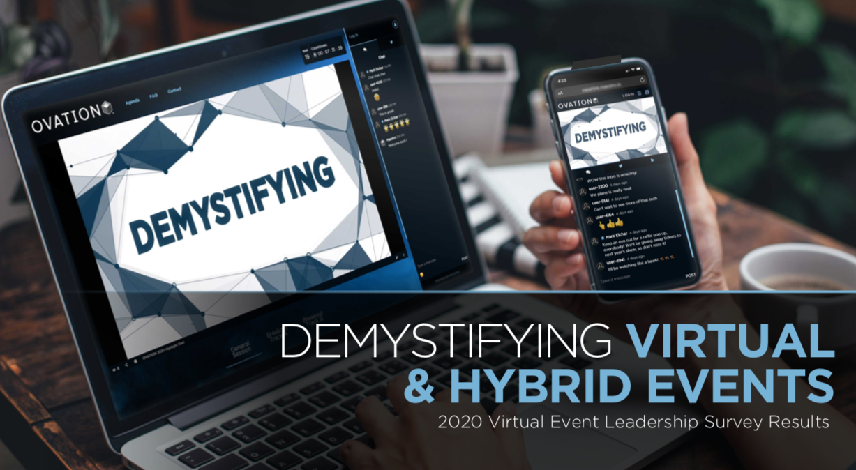 Demystifying Virtual & Hybrid Events eBook cover
